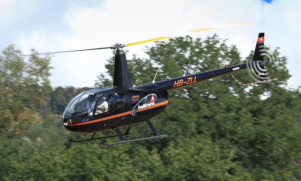 Schnupperflug Robinson R44