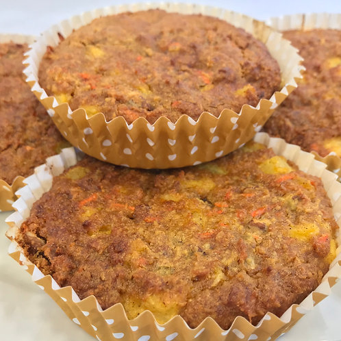 Eight Gluten Free Carrot Cakes