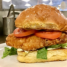 Wild Caught Fried Cod Sandwich