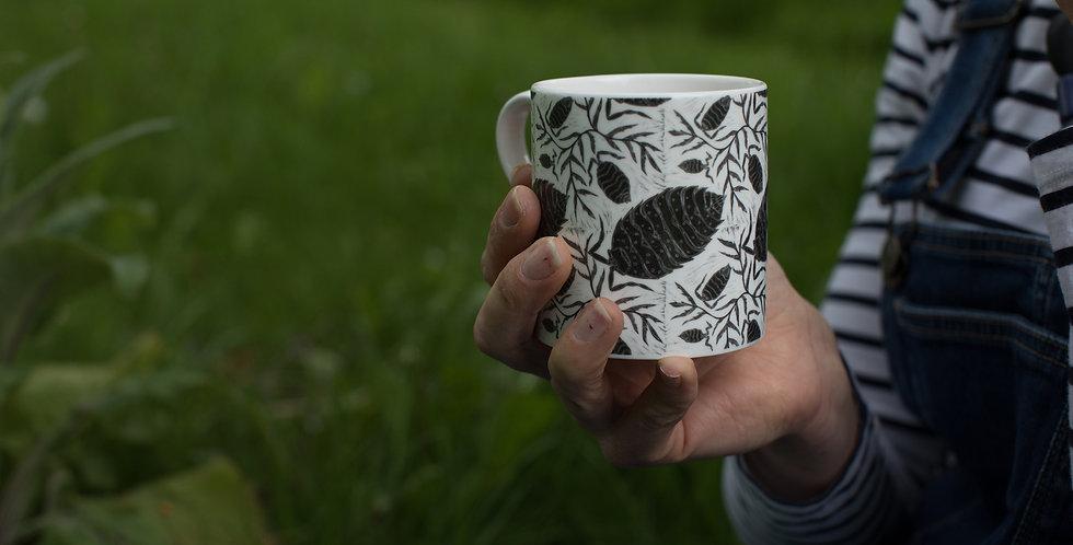 Woodlouse Bone China Mug