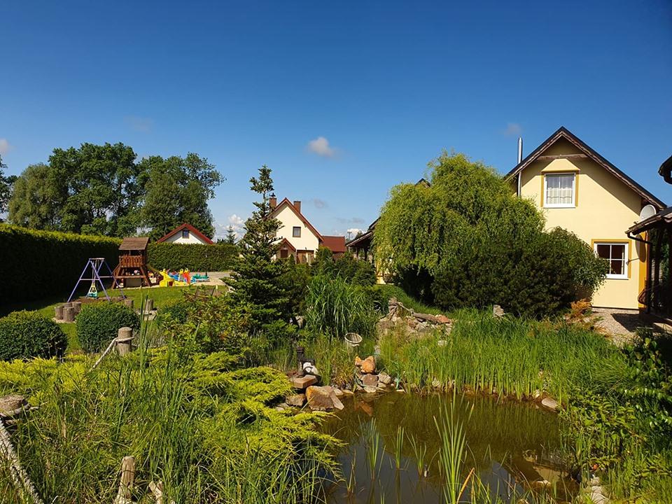 Domki Sun Village Stegna Morze Baltik