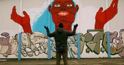 Sandy graffiti