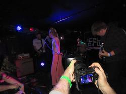 Behind the scenes-Tófa being filmed