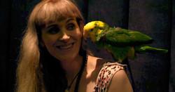 Parrot lady