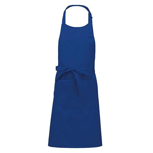 Tablier bleu royal VIERGE