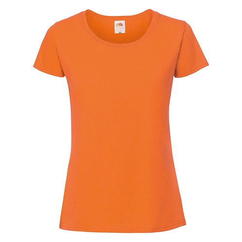 T-shirt orange VIERGE