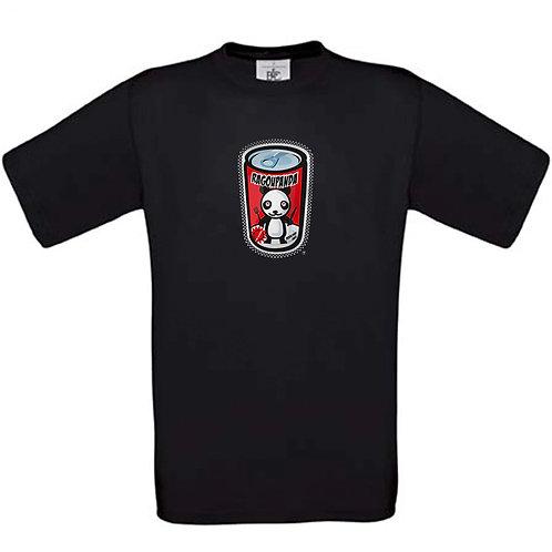 """T-shirt noir """" RAGOUPANDA  """""""