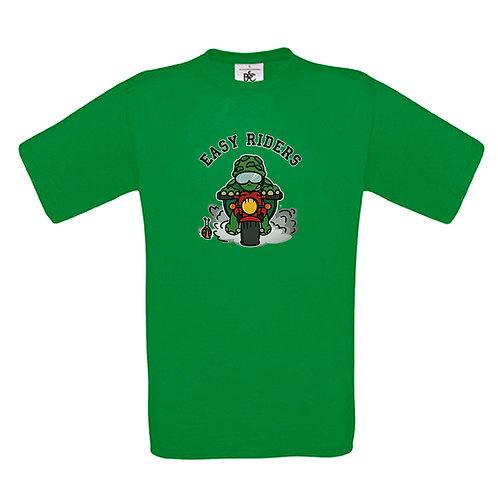 """T-shirt vert pomme """"EASY RIDERS"""""""