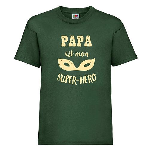 tshirt papa super hero