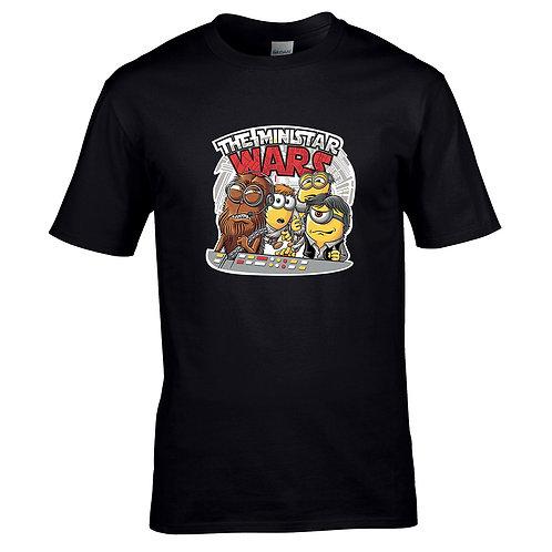 t-shirt minions starwars