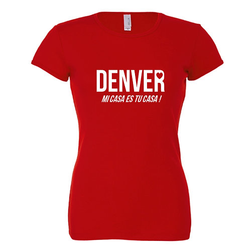 tee-shirt denver casa de papel