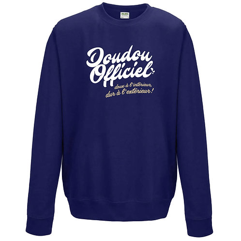 sweatshirt doudou officiel
