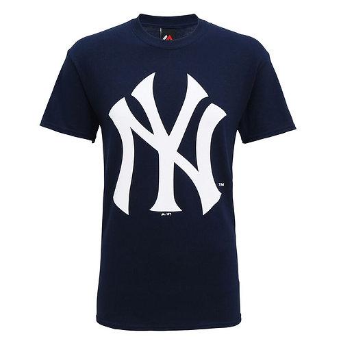 """T-shirt marine  """"N Y"""""""