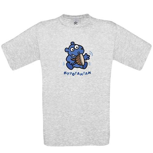 t-shirt enfant hippopotame