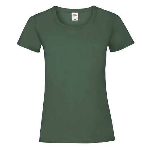 T-shirt vert bouteille VIERGE