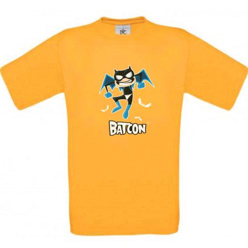 "T-shirt jaune ""BAT-CON"""