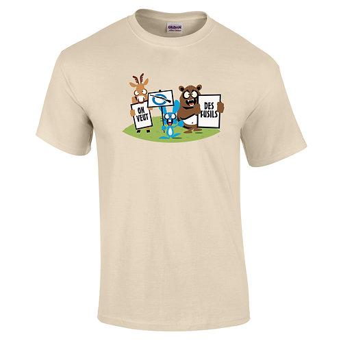 tee-shirt anti-chasse