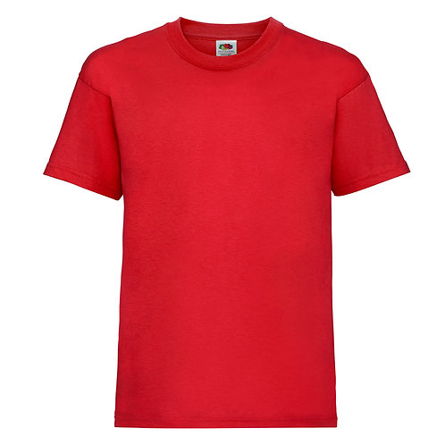 t-shirt enfant rouge vif