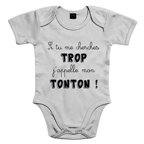 j'appelle Tonton body bébé