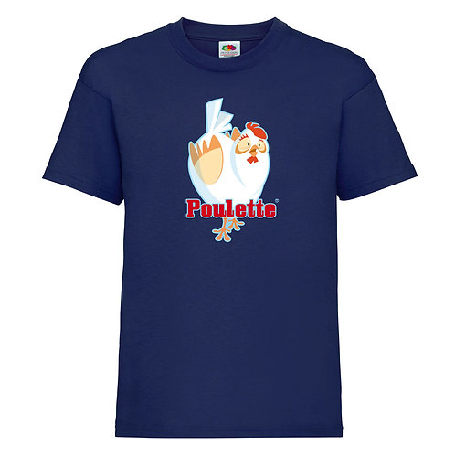 tshirt poulette