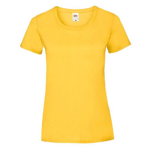 T-shirt jaune VIERGE