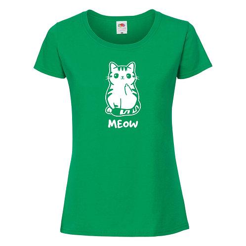 t-shirt chaton femme