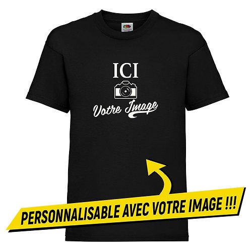 T-shirt ENFANT à personnaliser avec VOTRE IMAGE