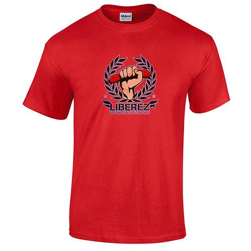 """T-shirt rouge """"SAUCISSE DE TOULOUSE"""""""
