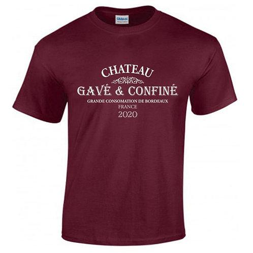 tee shirt gavé bordeaux