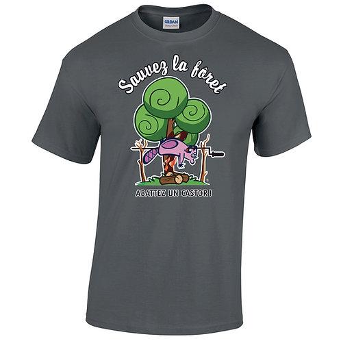 sauvez foret tee-shirt