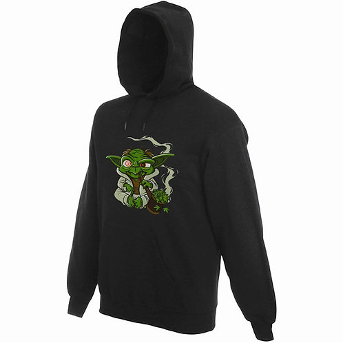 "Sweat noir ""YODA"""
