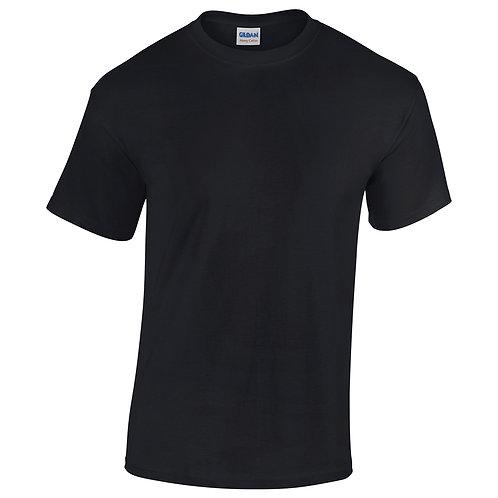 T-shirt noir VIERGE