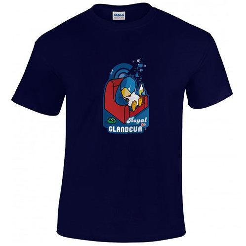 """T-shirt marine """"ROYAL GLANDEUR"""""""