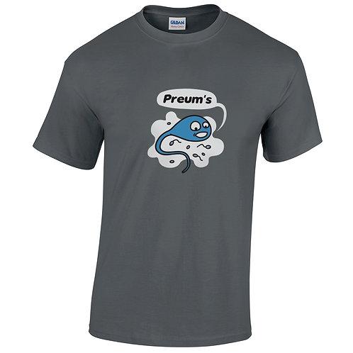 """T-shirt gris charbon """"PREUMS"""""""