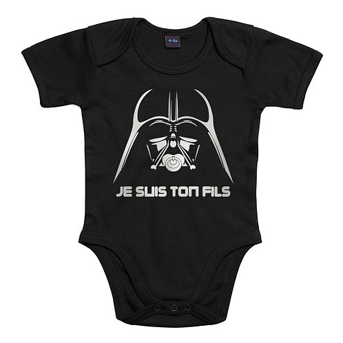 je suis ton fils star wars body bébé