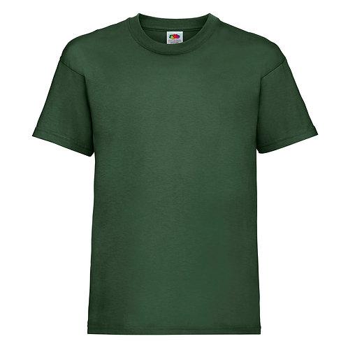 t-shirt enfant vert sapin
