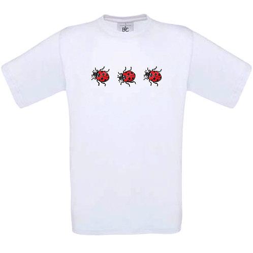 """T-shirt blanc """" COCCINELLE """""""