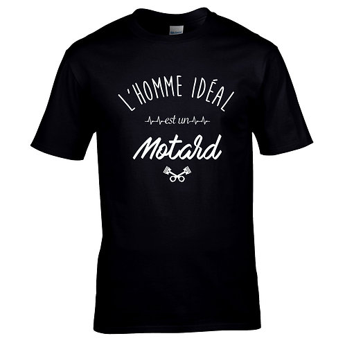 t-shirt motard homme idéal