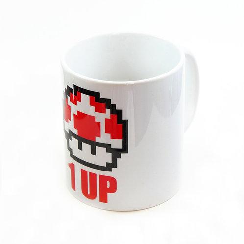"""Mug """"1 UP ROUGE"""""""