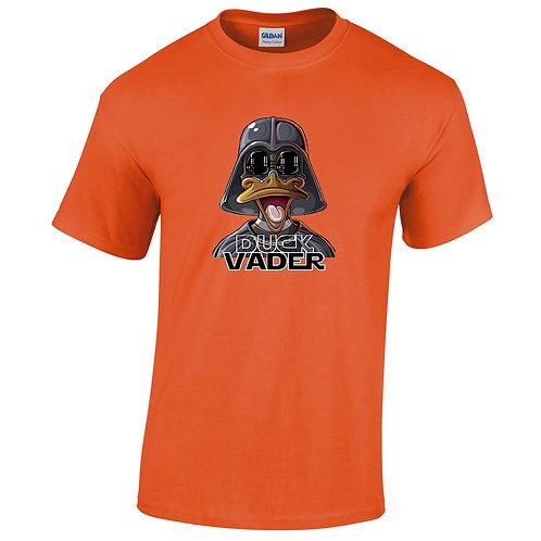 t-shirt orange duck vader
