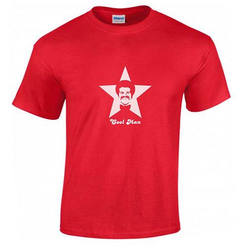 "T-shirt rouge ""COOL MAN"""