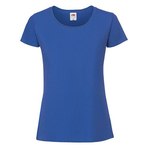 T-shirt bleu royal VIERGE
