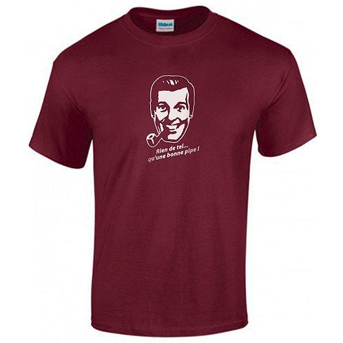 t-shirt rien de tel qu'une bonne pipe