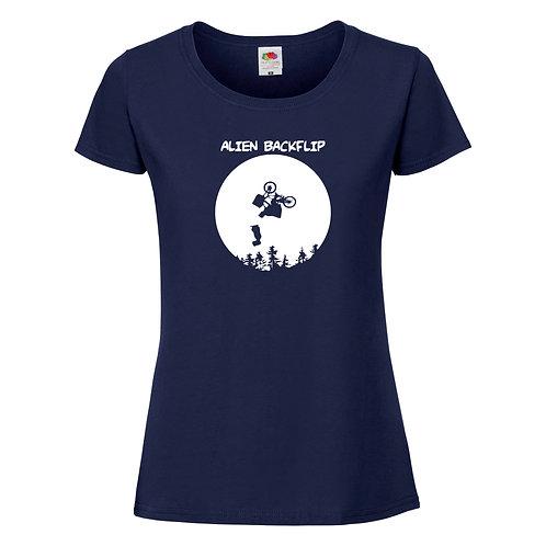 t-shirt alien backflip
