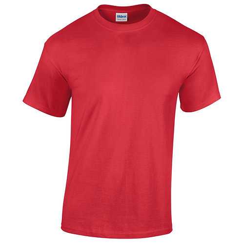 T-shirt rouge VIERGE