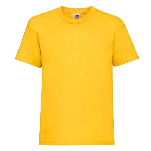 t-shirt enfant jaune