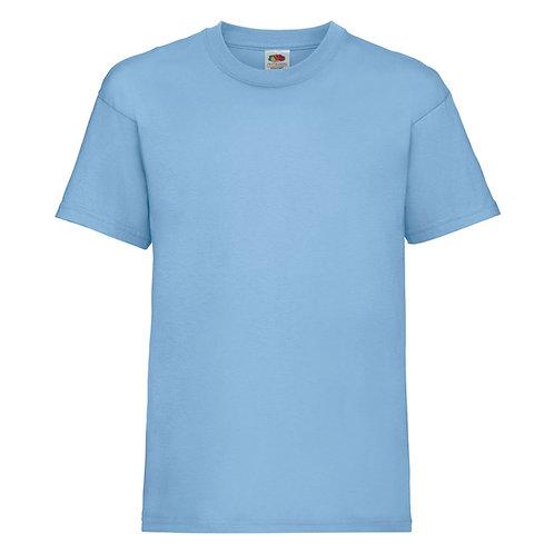 t-shirt enfant bleu ciel