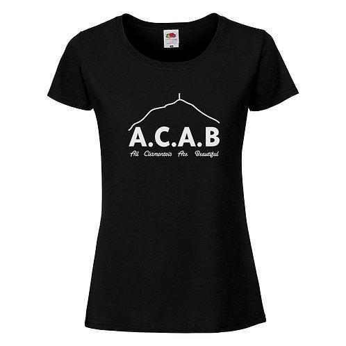 t-shirt femme ACAB