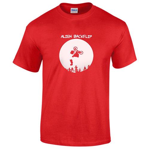 alien back-flip t-shirt