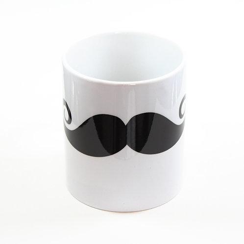 """Mug """"MOUSTACHES TROMPE L'OEIL"""""""